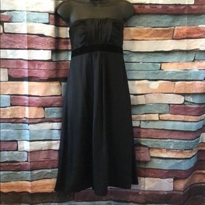 Black strapless Banana Republic Dress size 6
